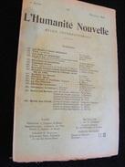 Revue Mai1898 L' Humanité Nouvelle N° 11 Revue Internationale Littéraire Politique Tendance Anarchiste -- GAR - Livres, BD, Revues