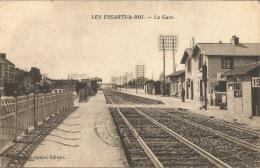 78 - LES ESSARTS LE ROI   LA GARE - Les Essarts Le Roi