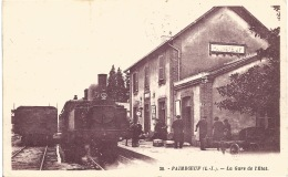 44 - PAIMBOEUF  LA GARE DE L'ÉTAT - Paimboeuf