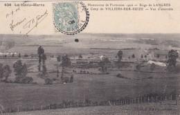B15 - 52 - Haute-Marne - Manoeuvres De Forteresse 1906 - Siège De Langres - Camp De Villiers-sur-Suize - N° 434 - France