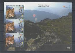 PORTUGAL. YT Bloc 154 Neuf ** Europa. Réserves Et Parcs Naturels 1999