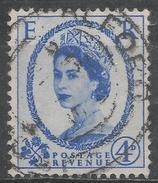 Great Britain 1953. Scott #298 (U) Queen Elizabeth II * - 1952-.... (Elizabeth II)