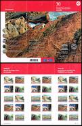 Canada 2017 UNESCO: Mistaken Point (fossil Site). Dinosaur Provincial Park. Booklet Of 30