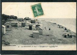 CPA - LA BERNERIE - Vue Générale De La Grande Plage, Animé - La Bernerie-en-Retz