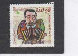 FRANCE : Musique Et Danse : Le Tango -  Joueur De Bandonéon - Oeuvres D´Antonio Segui - Emission France-Argentine -