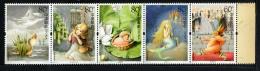 CHINE CHINA 2005, CONTES ANDERSEN, 5 Valeurs En Bande, Neufs / Mint. R1849
