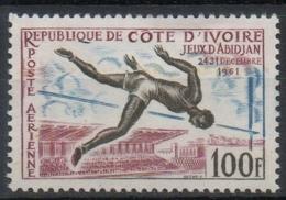 Costa D'Avorio Ivory Coast 1961 -  Salto In Alto High Jump MNH ** - Costa D'Avorio (1960-...)