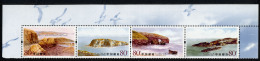 CHINE CHINA 2005, DALIAN, PLAGES, ILE, 4 Valeurs En Bande, Neufs / Mint. R1854