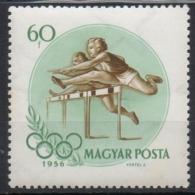 Ungheria Hungary 1956 -  Salto Ostacoli Hurdles MNH **