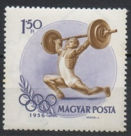 Ungheria Hungary 1956 -  Sollevamento Pesi Weight Lifting MNH **