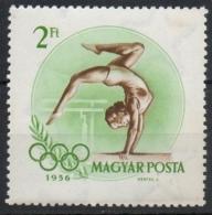 Ungheria Hungary 1956 -  Ginnastica Gymnastics MNH **