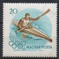 Ungheria Hungary 1956 -  Kayak MNH **