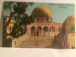 FI,CARTOLINA POSTALE,POST CARD,VIAGGIATA,ASIA,ASIAN,PALESTINIA,JERUSALEM