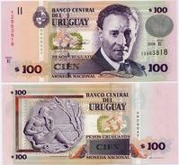 URUGUAY      100 Pesos Urug.    P-88a       2008       UNC - Uruguay