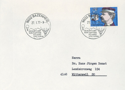 9602 Bazenheid Eduard Spelterini Heissluftballon - Suisse