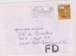 2,80f Meilleurs Voeux  1993  : De Yzeure à Saint Gilles Croix De Vie - 1961-....