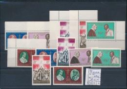 BURUNDI  1964 ISSUE COB 112/17 + IMPERFORATED  MNH