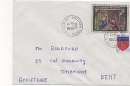 2964   Carta Francia  Elbeuf  1968 , Seine Maritime,
