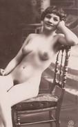 Nu Féminin - Repro Photo D'époque - Beauté Féminine D'autrefois < 1920