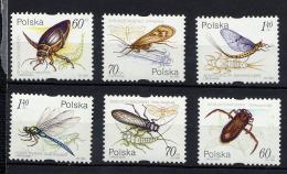 POLOGNE POLSKA 1999, INSECTES, 6 Valeurs, Neufs / Mint. R406
