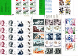 Lot De 7 Carnet De Suède : C1346, C1354, C1357, C1366, C1372, C1378, C1942