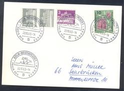 Germany Deutschland 1963 Card: Cavallo Horse Pferd Cheval: Equestrian; Preis Von Europa Köln