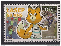 2014 Luxemburg  Mi. 1998 **MNH  50 Jahre Liga Der Sportverbände Im Grundschulbereich (LASEP).