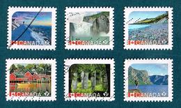 Canada 2014 2016 UNESCO World Heritage Sites. Miguasha. Burgess Shale (fossil Sites). Off Paper