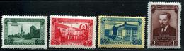 Russia 1950  Mi 1494-1499 MNH OG