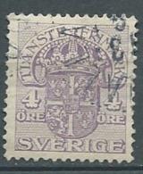 Suede Service  Yvert N° 21 Oblitéré   -  Cw23502