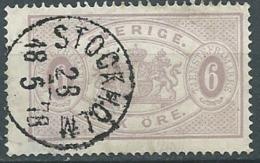 Suede Service Yvert N° 4 B  Oblitéré  ( DENT 14 ) -  Cw23505