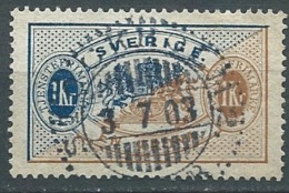 Suede  Service  Yvert N°  11 A   Oblitéré    -  Cw23511