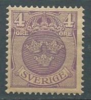 Suede    Yvert N°  57 * -  Cw23514
