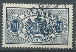 Suede   Service   Yvert N° 17 Oblitere  -  Cw23519