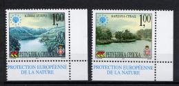 BOSNIE SERBE BOSNIA SERBIA SRPSKA 2001, Protection Européenne De La Natuire, 2 Valeurs, Neufs / Mint. R1740fr