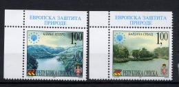 BOSNIE SERBE BOSNIA SERBIA SRPSKA 2001, Protection Européenne De La Natuire, 2 Valeurs, Neufs / Mint. R1740cy