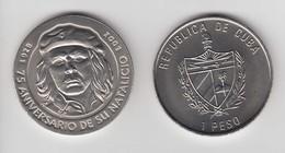 2003-MN-1 CUBA. KM ¿?. 1$. 2003. COPPER- NICKEL. ERNESTO CHE GUEVARA. - Cuba