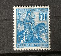 YT257 - Jeanne D'Arc - Neuf Charniere