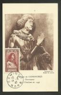 N° 767 - Chroniqueur COMMYNES - COMINES - NORD 14.03.1947 - Maximumkarten