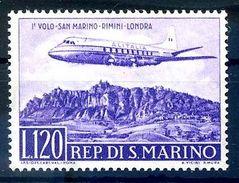 SAN MARINO 1959 - POSTA AEREA NUOVO  FRANCOBOLLI NUOVO - Saint-Marin