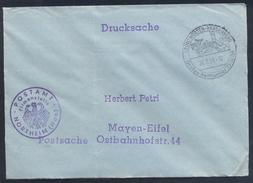 Germany Deutschland 1959 Postsache Cover: Cavallo Horse Pferd Cheval: Equestrian; Grosses Reiturnier Nörten-Hardenberg