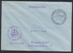 Germany Deutschland 1959 Postsache Cover: Cavallo Horse Pferd Cheval: Equestrian; Deutsches Spring Und Fahrderby Hamburg
