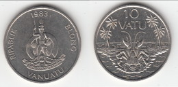 **** VANUATU - 10 VATU 1983 - CRABE **** EN ACHAT IMMEDIAT !!! - Vanuatu