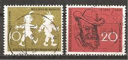 BRD 1958 // Michel 281/282 O