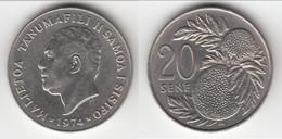 **** SAMOA - 20 SENE 1974 MALIETOA TANUMAFILI II **** EN ACHAT IMMEDIAT !!! - Samoa