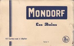 Ph-CPA Belgique Mondorf Les Bains (Luxembourg)  Série 2, Carnet De 10 Cartes Postales Anciennes - Mondorf-les-Bains
