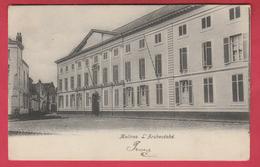 Mechelen / Malines - L'Archevêché  - 1905 ( Verso Zien ) - Malines