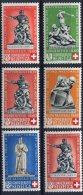 1738  -  SUISSE   N° 349/53**+ 351a  Timbres Pour Le Don National Et La Croix - Rouge      TTB