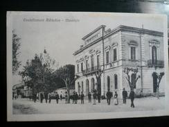 Castellammare Adriatico Municipio Movimentata Usata 1918 - Italia