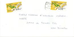 Espana ATM 1998 Logrono >> Bruxelles B / Certificado Registered / Musique - 1931-Aujourd'hui: II. République - ....Juan Carlos I